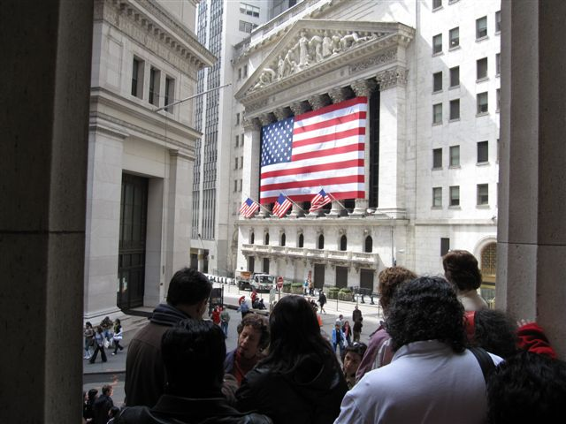 New York Stock Exchange today.