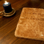 Baptist church record book from the Bible Baptist Church of Galway
