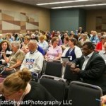 Audience at a National Genealogical Society 2014 Family History Conference in Richmond, Virginia