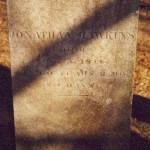 Jonathan Hawkins / Died / Aug. 5, 1844, / Age 60 Years 3 Mo. / & 4 Days